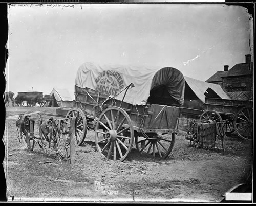 General Ulysses S Grant's Baggage Wagon
