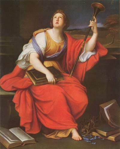 Clio, Muse of History by Pierre Mignard