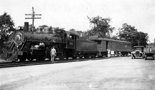 Norwood & St Lawrence Railroad #211