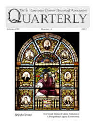 Cover of recent issue of the Quarterly